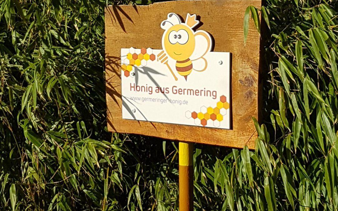 Neue Ernte des Germeringer Honigs