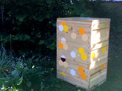 Holzbeuten für die Bienen – Mai 2017