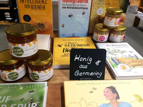 Honig Verkauf in Germering Buchhandlung Lesezeichen