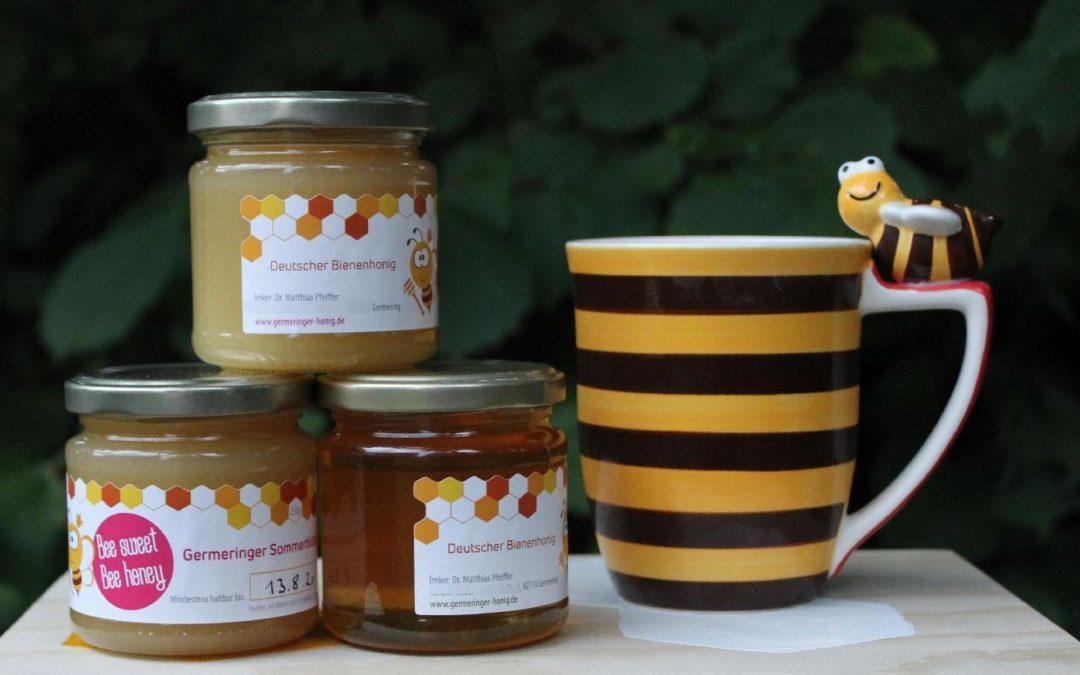 Honig aus Germering 2018