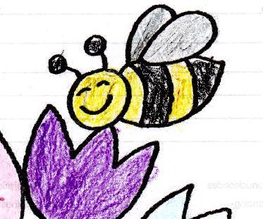 bild honig biene germering malen